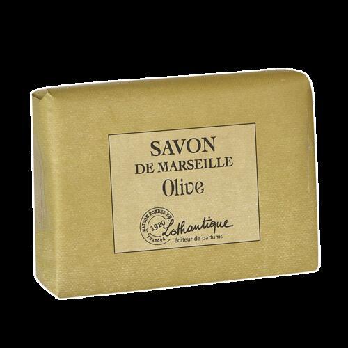 Savon de marseille olive le comptoir savons de marseille collection lothantique lothantique - Composition savon de marseille ...